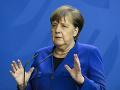 KORONAVÍRUS Merkelová pripustila nedostatky v riešení druhej vlny pandémie