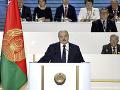 Lukašenko sa prihovoril k verným stúpencom: Hovoril o odrazení bleskovej vojny vonkajších síl