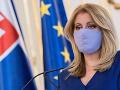 KORONAVÍRUS Prezidentka odobrila nulovú DPH na predaj respirátorov