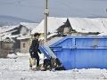 Uzavretá rómska osada Sačurov