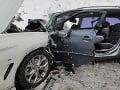 PRÁVE TERAZ FOTO Hrozivo vyzerajúca nehoda: Cesta je neprejazdná