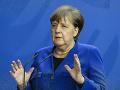 Merkelová rok po teroristickom útoku v Hanau: Rasizmus je jed