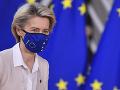 Šéfka Európskej komisie Ursula