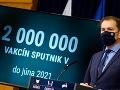 Igor Matovič o vakcíne Sputnik V