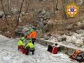 VIDEO záchrany z pazúrov ľadovej smrti: Zranený turista (33) prežil v Alpách sedem krutých nocí