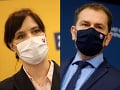Veronika Remišová a Igor Matovič