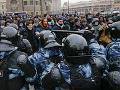 Navaľného podporovatelia vyzývajú na hromadný protest: Chcú dosiahnuť 500-tisíc účastníkov