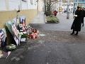 Prezidentka Zuzana Čaputová si uctila pamiatku Jána Kuciaka a Martiny Kušnírovej