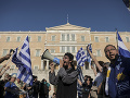 Demonštrácie v Grécku pokračujú: Ľudia protestujú proti policajným hliadkam na univerzitách