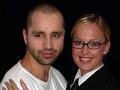 Robo Opatovský a Zuzana Belohorcová v roku 2002