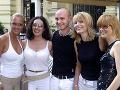 Zuzana Belohorcová, Katarína Hasprová, Branislav Gröhling, Ema Tekelyová a Soňa Müllerová