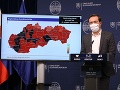 KORONAVÍRUS Situácia na Slovensku sa nelepší: Čiernych okresov je už 20, Krajčí nechce uvoľňovať opatrenia