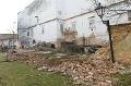 FOTO Pri bývalom arcibiskupskom paláci sa zrútil múr