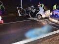 Tragédia v Banskej Bystrici! Žalostný pohľad pre záchranárov: Ženu našli mimo auta, vodič (†26) zahynul