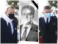 Smútok v Hurbanovej vsi: Politické špičky sa prišli rozlúčiť s Petrákom, FOTO na obrad prišli aj vládni poslanci