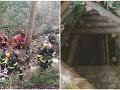 Tragédia pri Banskej Štiavnici: FOTO Smrť mužov v štôlni má trpkú príchuť, telá sú stále uväznené v podzemí