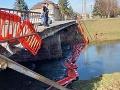 Most v Partizánskom bol roky v katastrofálnom stave: Opravovať by ho mali začať už v apríli