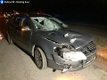 FOTO Tragická dopravná nehoda so smrteľnými následkami: Chodec zrážku s autom neprežil