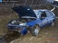 Polícia obvinila vodiča, ktorý mal dopravnú nehodu pri obci Budimír
