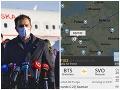MIMORIADNE Ruský Sputnik je v Košiciach: Matovičovci informujú z letiska o prvých počtoch