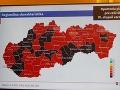 KORONAVÍRUS Na Slovensku je 30 okresov, kde je najväčšie riziko šírenia nákazy