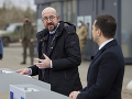 Predseda Európskej rady na návšteve Ukrajiny: Prisľúbil jej väčšiu podporu