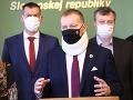 Vyhlásenie Borisa Kollára a poslancov zo strany Sme rodina