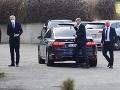 Lídri koaličných strán prišli na stretnutie s prezidentkou: Sulík a Remišová sú už v paláci