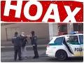 Polícia upozornila na hoax