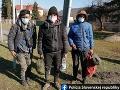 FOTO Polícia v Teranoch a Dunajskej Strede riešili prípady nelegálnej migrácie