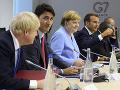 Skupina G7 vyzýva Čínu: Má ukončiť politický útlak v Hongkongu