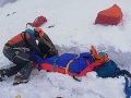 FOTO Chvíle hrôzy vo Vysokých Tatrách: Troch skialpinistov zasypala lavína, mali veľké šťastie