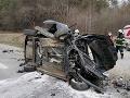 Tragická dopravná nehoda pri obci Bertotovce: Vodič na následky zranení na mieste zomrel