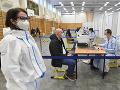 KORONAVÍRUS V košickom veľkokapacitnom centre zaočkovali už vyše 21-tisíc ľudí