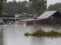 Silné dažde v Austrálii neutíchajú: Muž zahynul v záplavách v Sydney