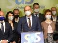 SaS sa odmieta zúčastňovať na rokovaniach: Strana očakáva Matovičovu demisiu