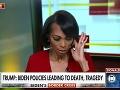 Trapas moderátorky počas rozhovoru s Trumpom: VIDEO Takto sa musela ospravedlňovať!