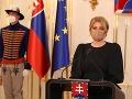 VLÁDNA KRÍZA Rázne slová Čaputovej: Matoviča vyzvala na demisiu! Vláda nie je eseročka