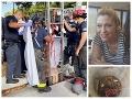 Z kanála na ulici sa ozýval krik: FOTO Hasiči v šoku! V smradľavej šachte našli nahú ženu (43)
