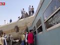 V súvislosti so zrážkou vlakov v Egypte zatkli osem ľudí vrátane rušňovodičov
