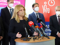KORONAVÍRUS Prezidentka ocenila prístup samospráv a ich kľúčovú úlohu pri vakcinácii