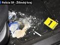 Policajti zaistili počas protidrogovej akcie v Žiline pervitín