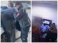 VIDEO Pat a Mat v Bratislave? Zlodej vyskočil pred políciou z 2. poschodia, komediálna dohra!