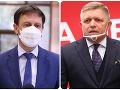 Fico si v diskusii s Hegerom rypol do vlády: Odsúdená na neúspech! Takto nazval koaličnú krízu