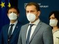 MIMORIADNE Zlom vo vládnej kríze: Novým premiérom má byť Eduard Heger, SaS sa vráti do vlády!