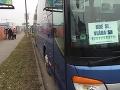 Protest vodičov autobusov v