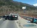 Hasiči zasahovali pri zrážke kamióna a osobného auta v Žiline