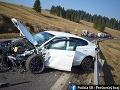 FOTO Zrážka áut za Plavnickým kopcom si vyžiadala ťažké zranenia vodičov