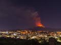 Erupcie sopky Etna zapríčinili pozastavenie letov na letisku v Catanii
