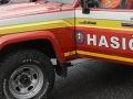 Desiatky hasičov zasahujú pri požiari na Železnej studničke v Bratislave
